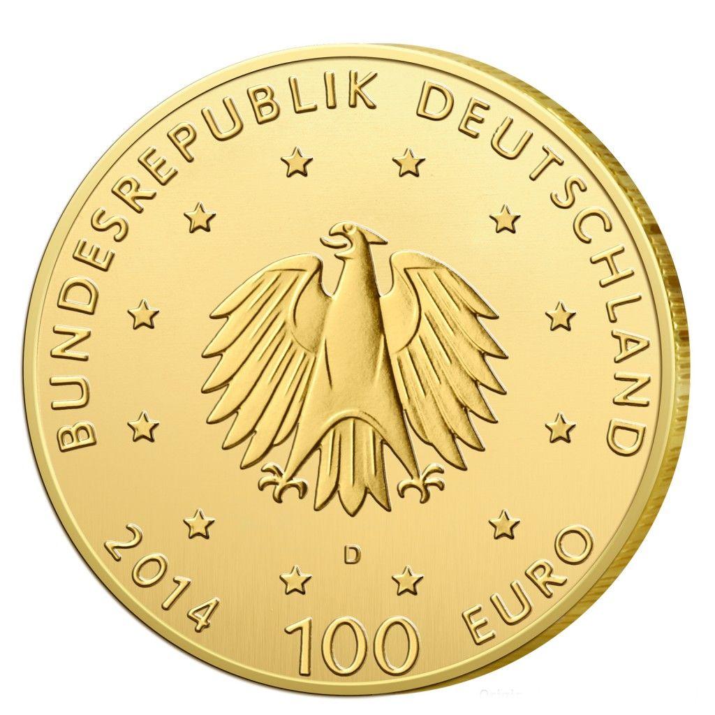 Deutschlands Euro Gold Brd 100 Euro Goldmunzen 2002 Bis Heute Im