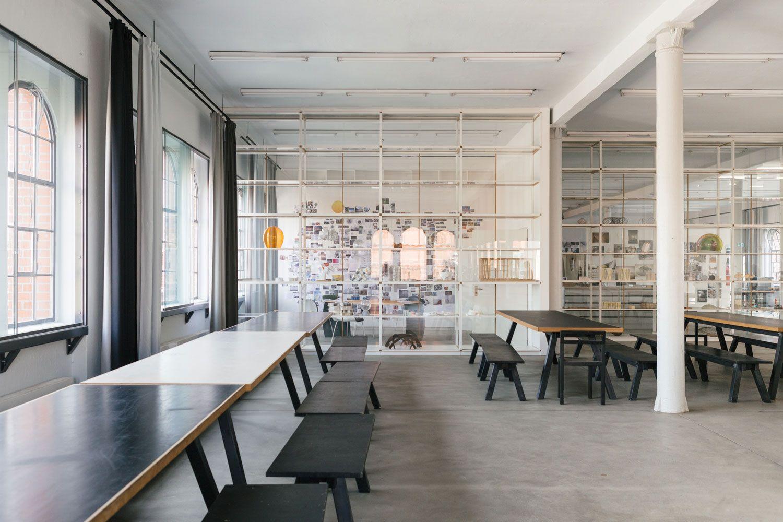 Olafur Eliassonu0027s Office U0026 Studio In Berlin