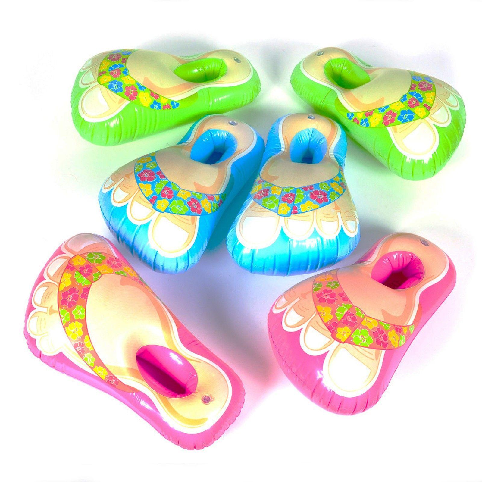 1b926304a Inflatable Flip Flop Feet Hawaiian Flip Flops