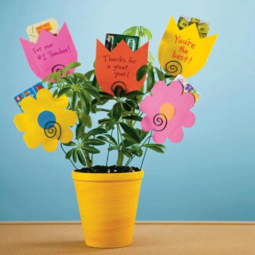Gift card presentation ideas teacher gift card presentation teachers gift ideas gift card bouquetflower negle Choice Image