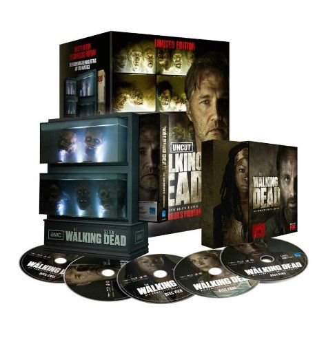 The Walking Dead: Die komplette 3. Season Limited Edition Aquarium Uncut: Amazon.de: Andrew Lincoln, Sarah Wayne Callies, Laurie Holden, Norman Reedus, David Morrissey, Frank Darabont: DVD & Blu-ray