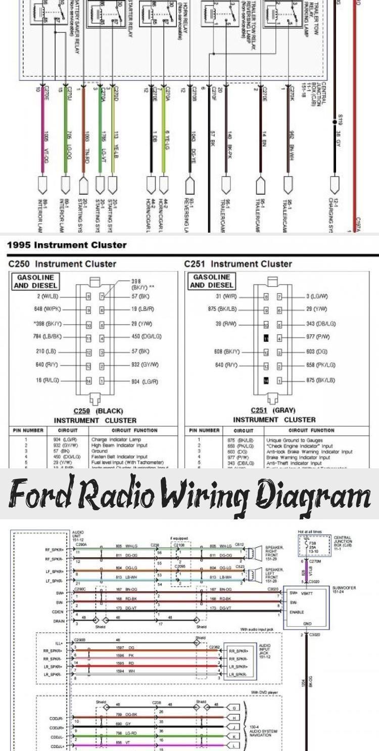 Ford Radio Wiring Diagram