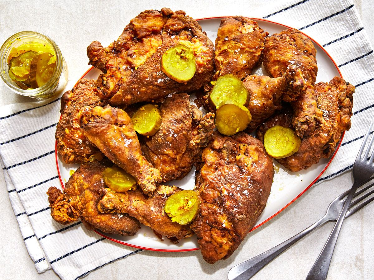 Pickle Brined Fried Chicken Recipe Recipe In 2020 Fried Chicken Chicken Chicken Recipes