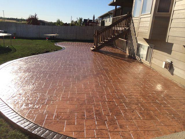 E & J Concrete and Dirt Work | Wichita Patio Contractor | Decorative ...