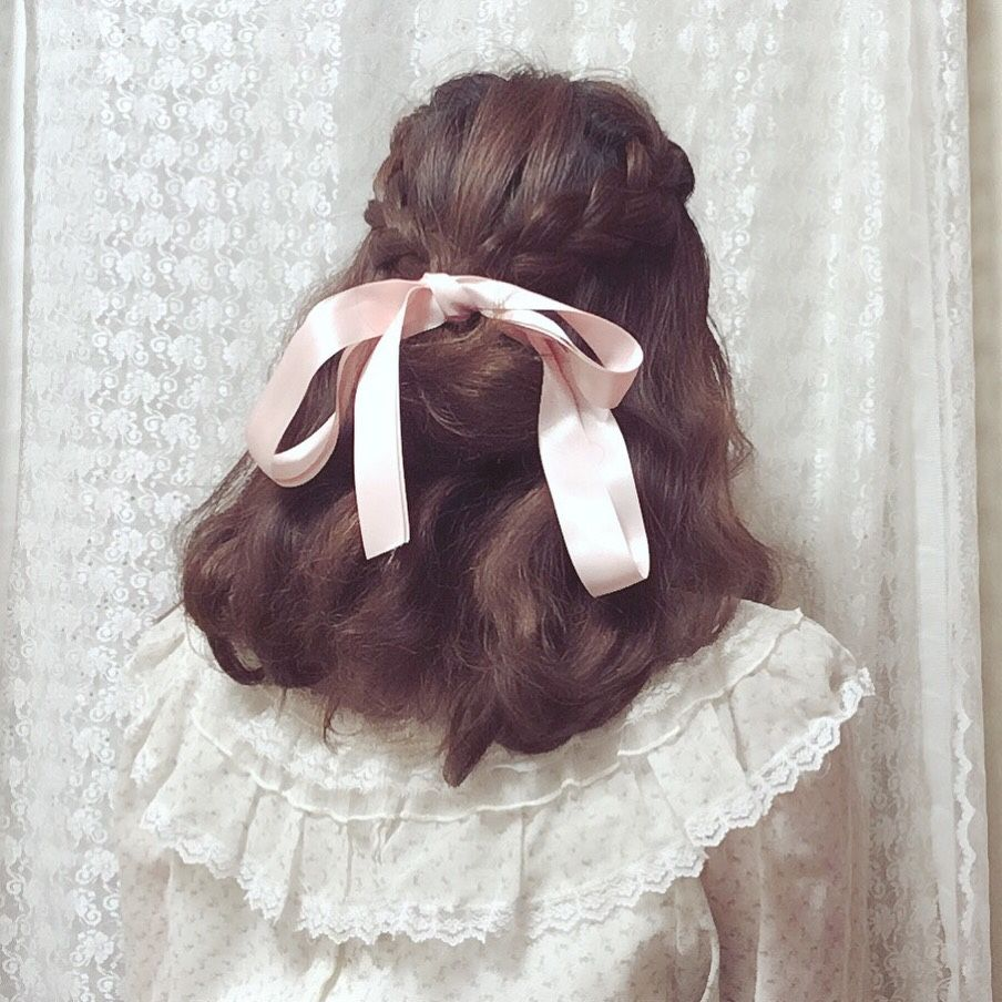 Pin By ˏˋ K R I S S Y ˊˎ On ˏˋ Hair Stylings ˊˎ Aesthetic Hair Hair Styles Pretty Hairstyles