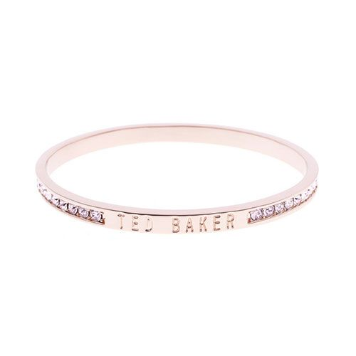 official the best attitude new design Ted Baker Jewellery Collection Rose Gold Plated Rose Crystal ...