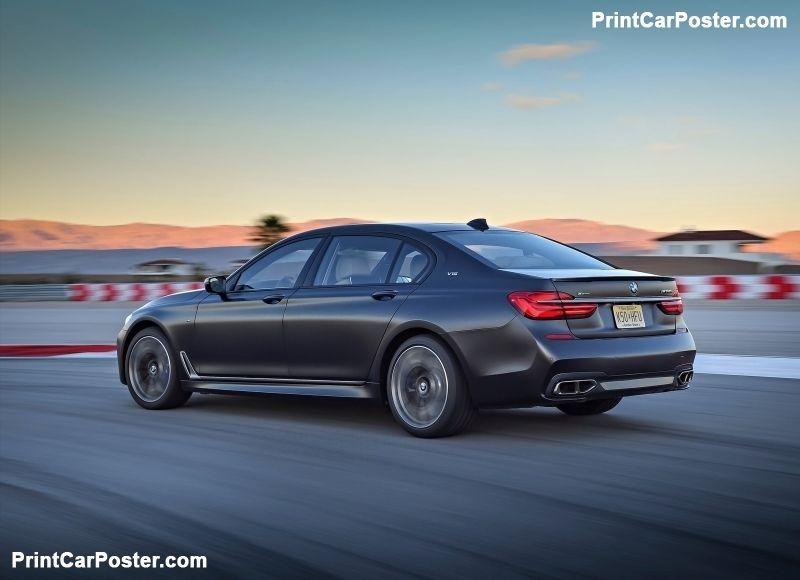 BMW M760Li xDrive 2017 poster   Bmw, Poster, 2017 bmw