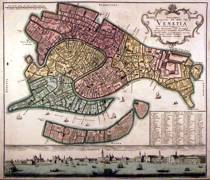 Pin by Merylindis on Luna di Miele | Venice map, Venice ...