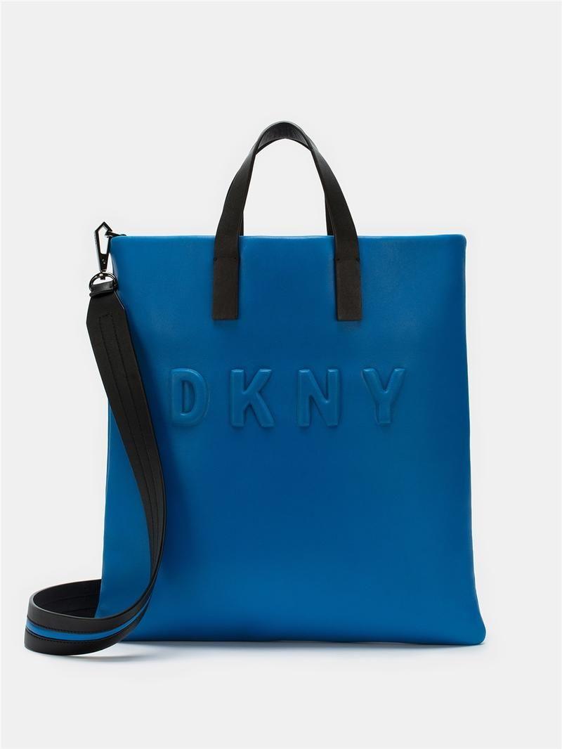 DKNY Neoprene Bonded Lamb Nappa Leather Tote. #dkny #bags ...