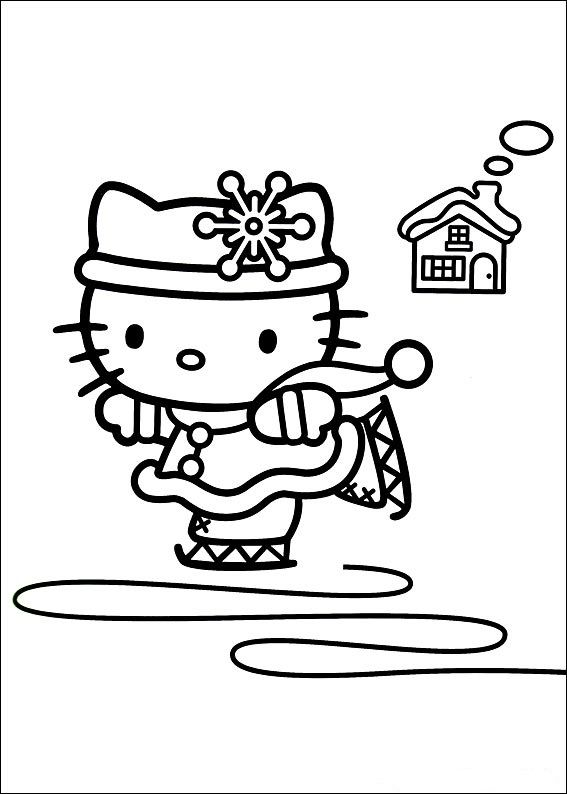 Pin By Dori Hazi On Winter Princess Kids Coloring Pages And Templates Hello Kitty Colouring Pages Kitty Coloring Hello Kitty Coloring