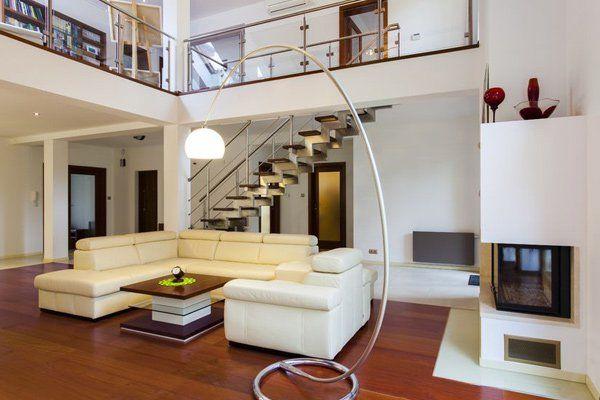 10 Living Interior Big Modern House