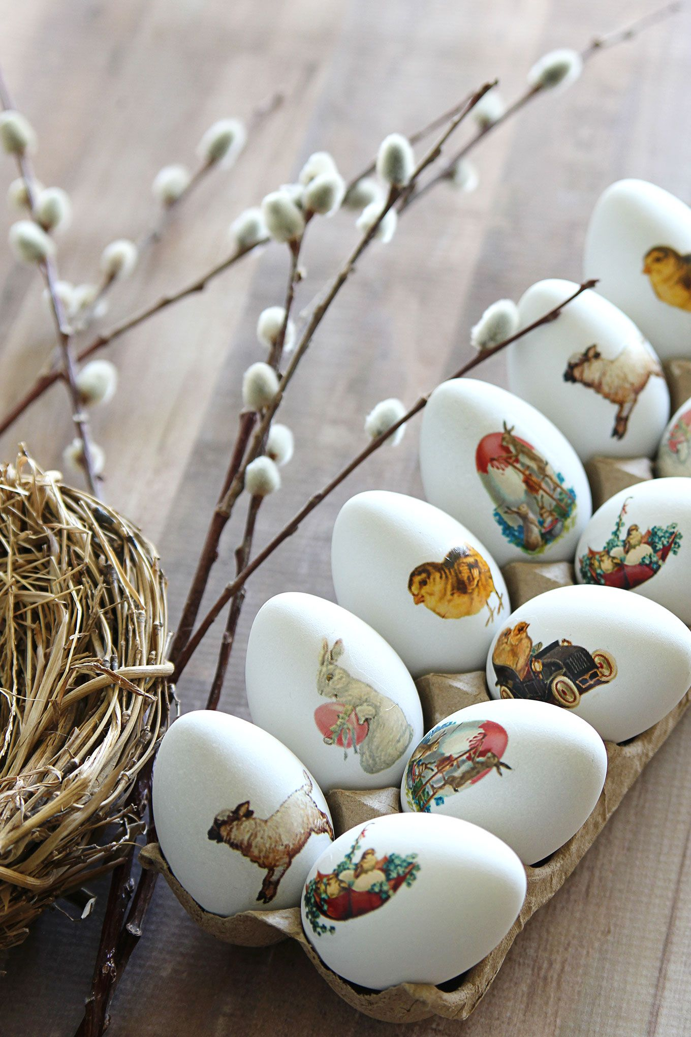Diy Easter Egg Temporary Tattoos Vintage Style Easter Egg