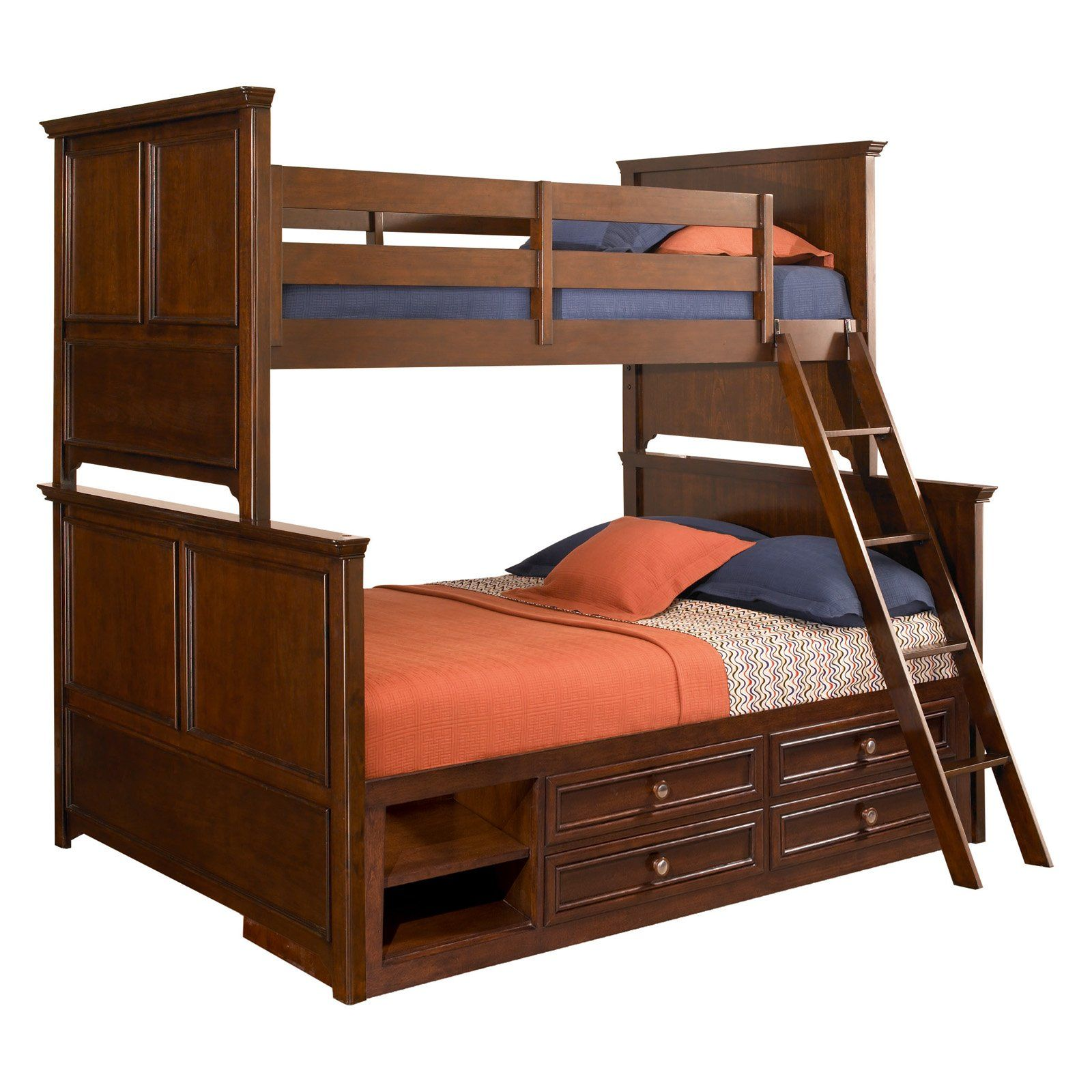 Covington Twin Over Full Bunk Bed Beds At Hayneedle