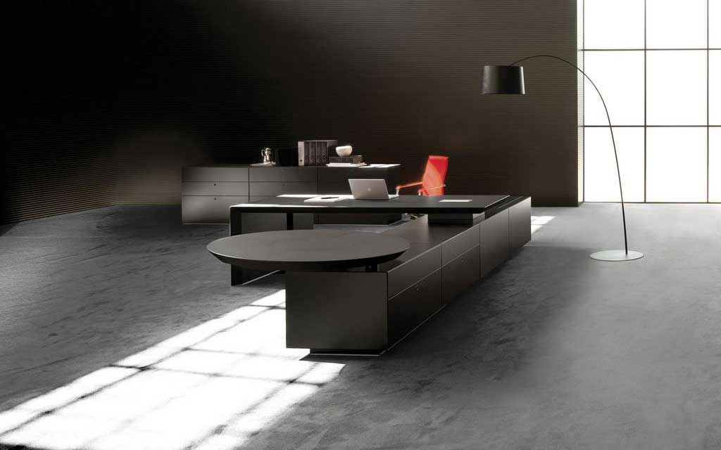 Attrayant Modern Executive Office Furniture Has Both The Style And Simplicity In  Design.