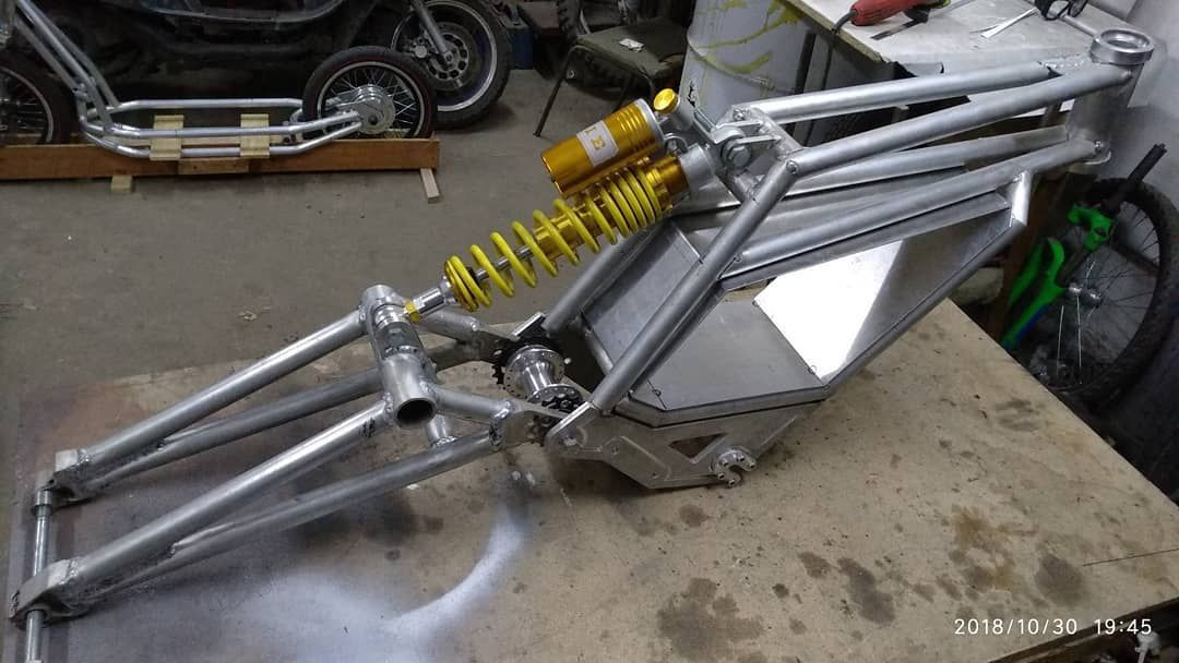 Latest Custom Electric Motorcycle Diy Builders From Instagram