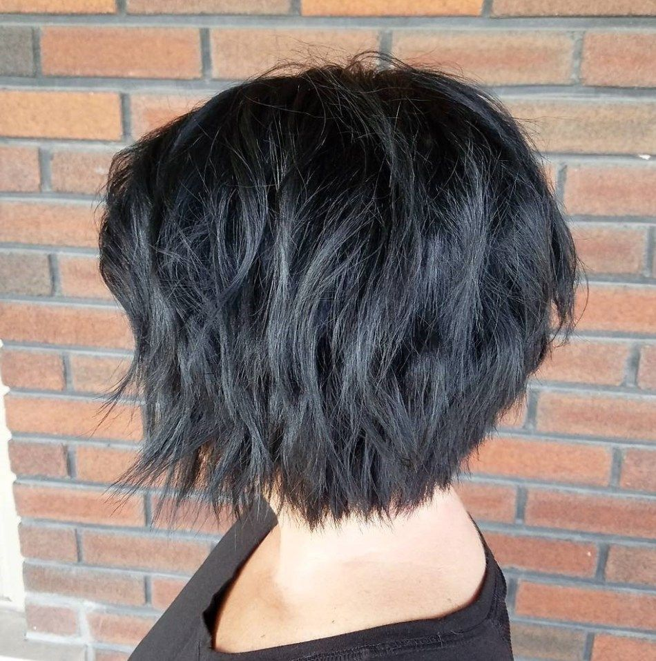 50 Hottest and Trendiest Messy Bobs Worth Trying in 2020 - Hair Adviser #edgybob