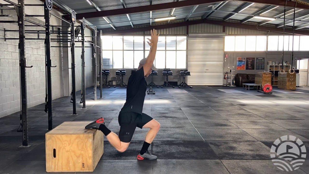 Overhead Bulgarian Split Squat in 2020 Split squat