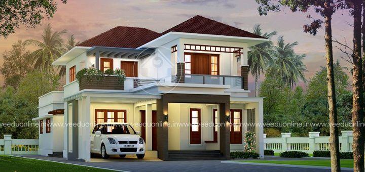 Veeduonline Page 14 Of 72 Kerala Home Designs Free Home Plans Free House Plans Kerala House Design House Design