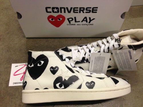 cdg play converse ebay