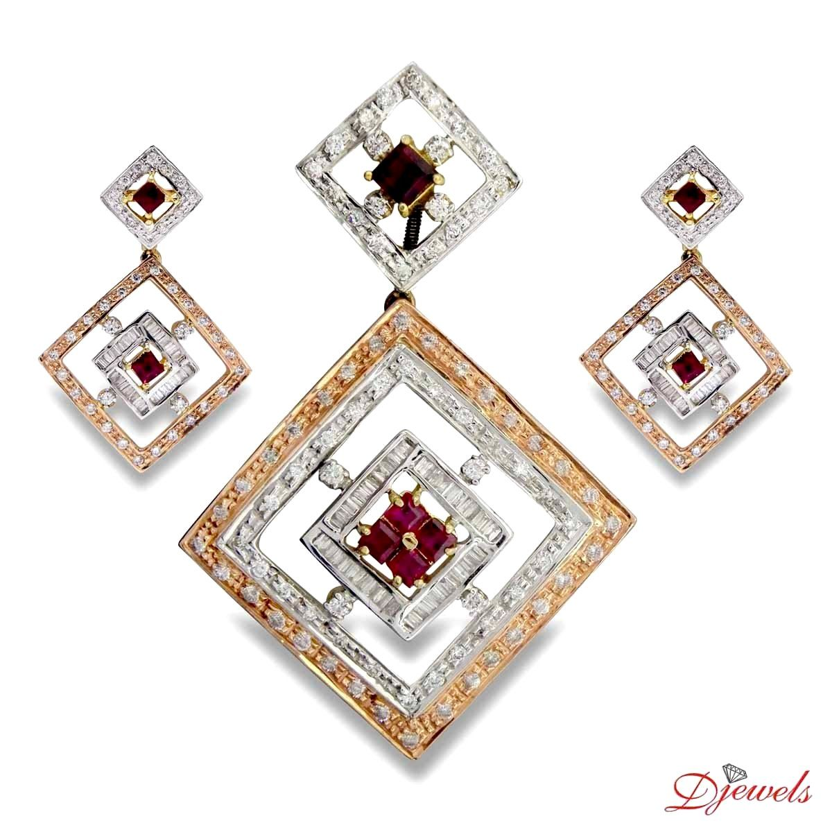 Diamond pendant set diamond pendant set designs pinterest