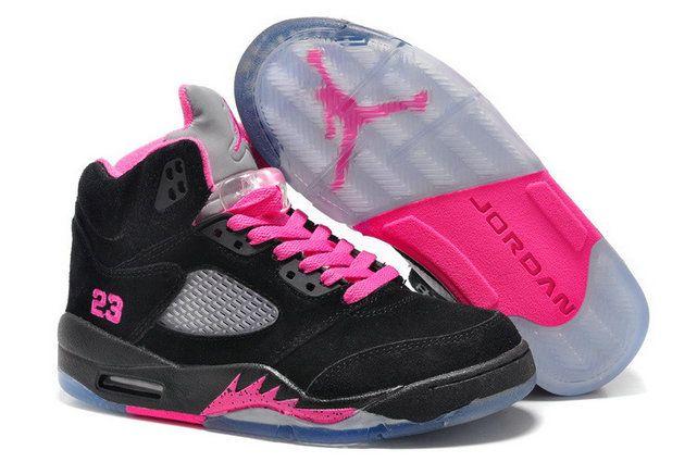 Authentic Cheap Air Jordan 5 Discount Authentic Cheap Air Jordan 5 Retro  Black Pink Grey NikeVAPORMAX