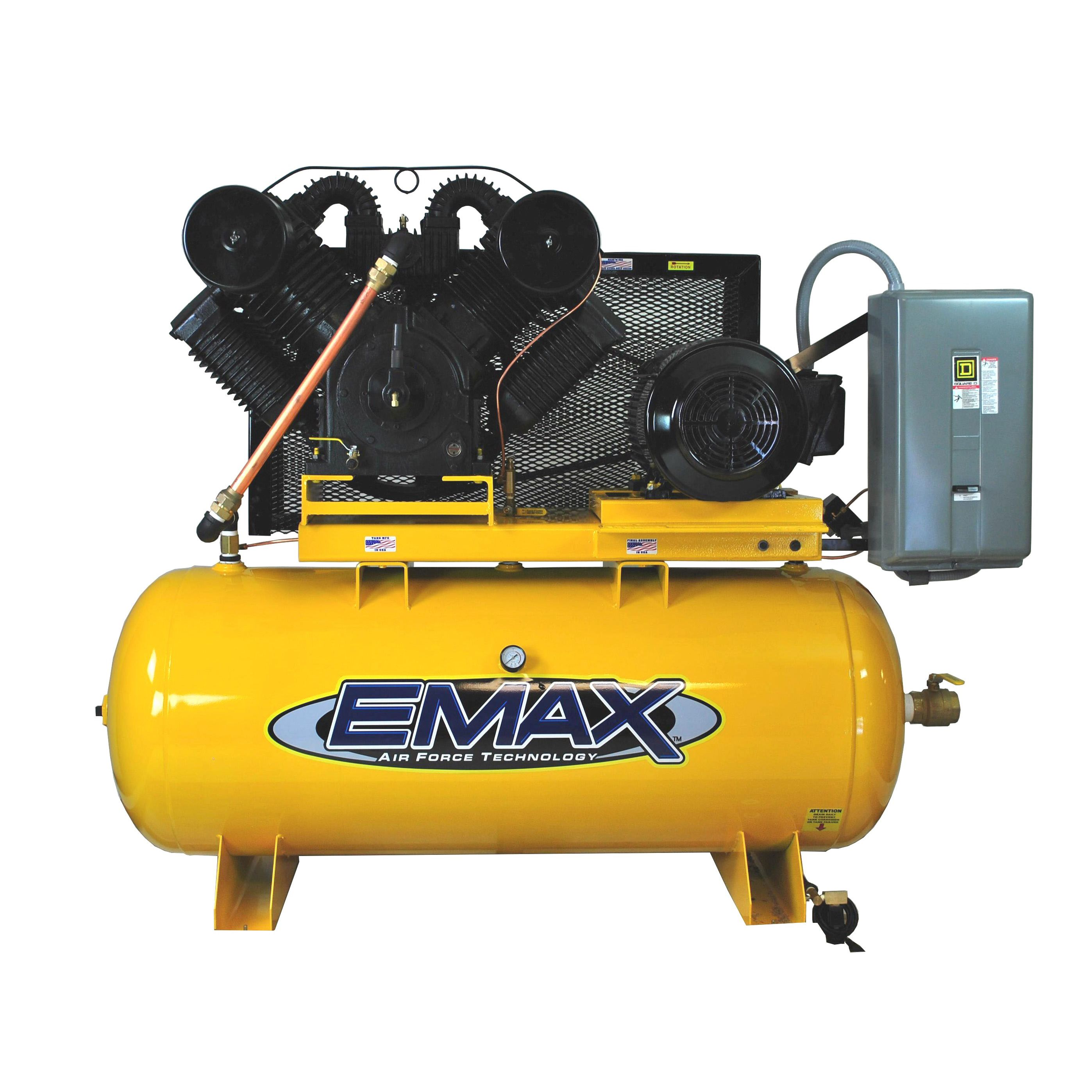 Emax Industrial Plus 25 HP 3Phase 2Stage 120gallon