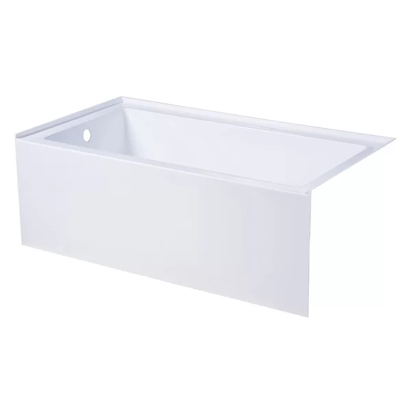 Aqua Eden 54 X 30 Alcove Soaking Bathtub Soaking Bathtubs Kingston Brass Bathtub