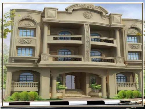 ديكور واجهات منازل حديثة بتصاميم تشطيب واجهات مودرن الجزيرة للديكور وتشطيب الواجهات House Outside Design Residential Building Design House Ceiling Design