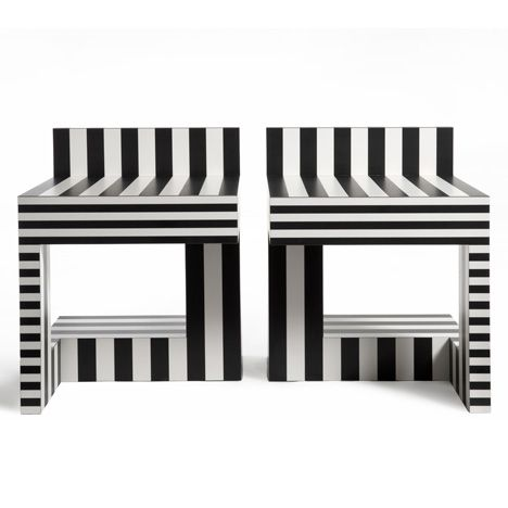 Neo Laminati stools by Kelly Behun Studio
