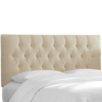 Wayfair Custom Upholstery Bridget Upholstered Panel Headboard Size ...