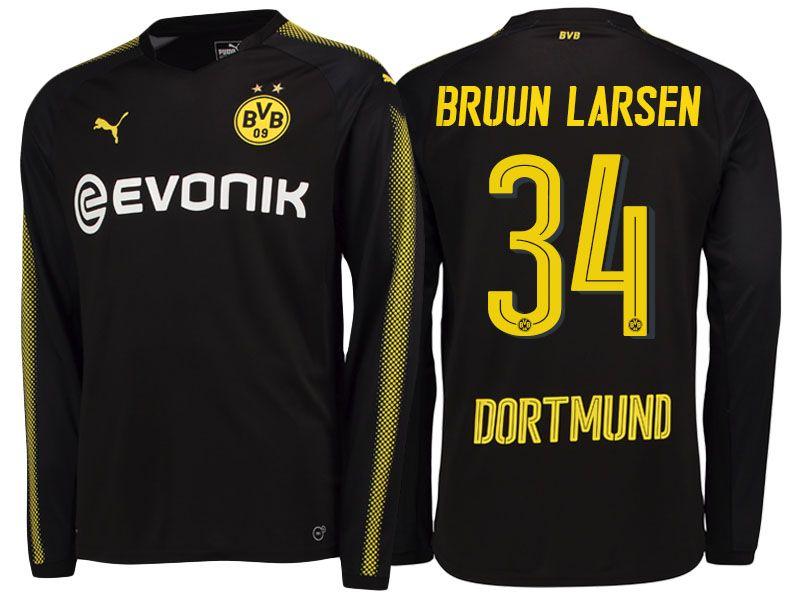 Maillot Extérieur Borussia Dortmund Jacob Bruun Larsen