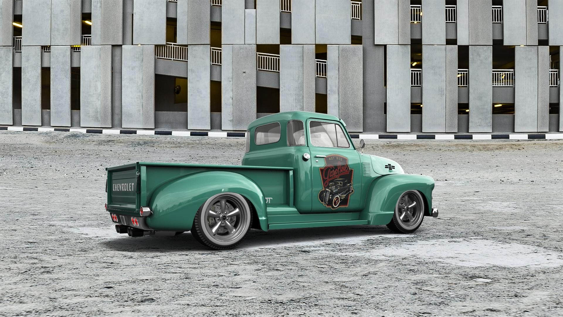 Checkout My Tuning Chevrolet 3100 1954 At 3dtuning 3dtuning
