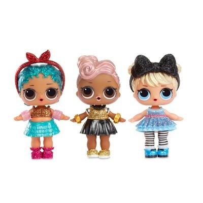 L O L Surprise Dolls Glitter Series 2 Wave 1 Lol Dolls Glam And Glitter Dolls