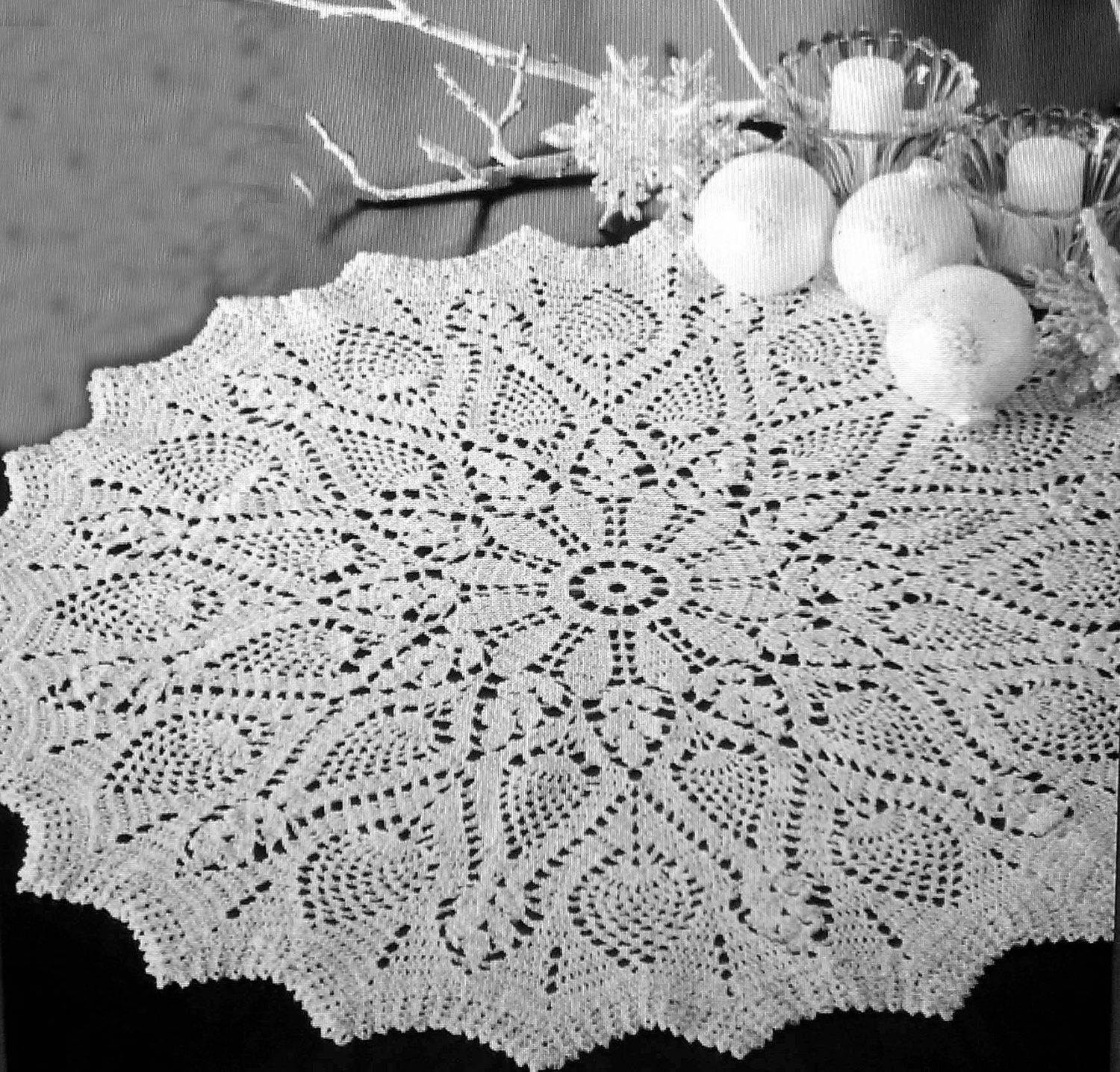Treasured Heirlooms Crochet Vintage Pattern Shop, doilies, place ...