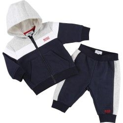 hugo boss ensemble de jogging bleu ensembles v tements b b et enfant gar on pinterest