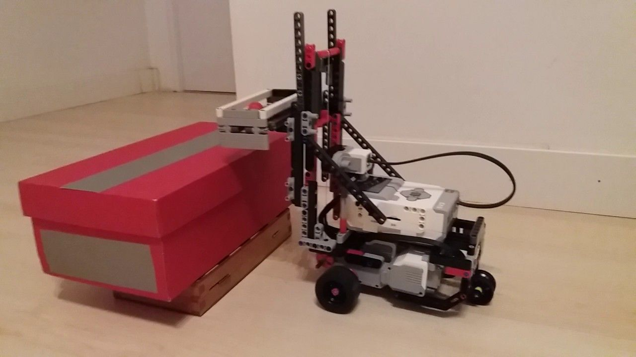 Ev3 forklift nxt forklift by dave paker adapted to lego