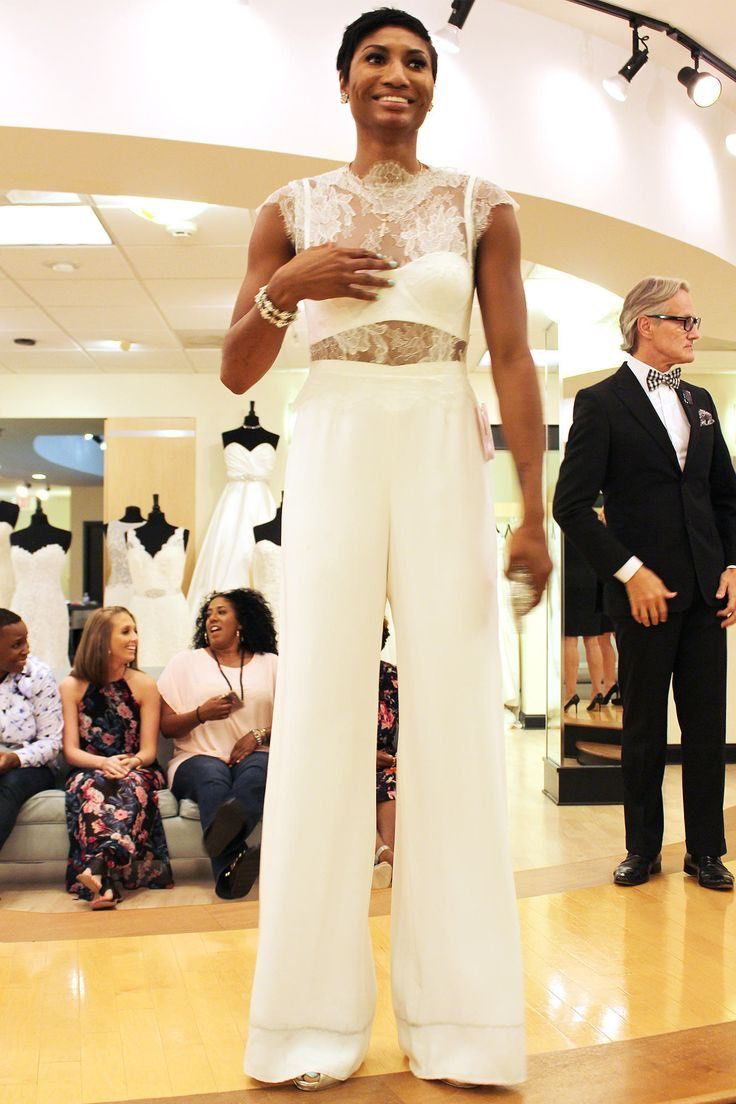 Say yes to the dress pant suitjumperjumpsuit wedding ideas see the wedding gowns featured on say yes to the dress atlanta and see our favorites that didnt make it into the episode ombrellifo Choice Image
