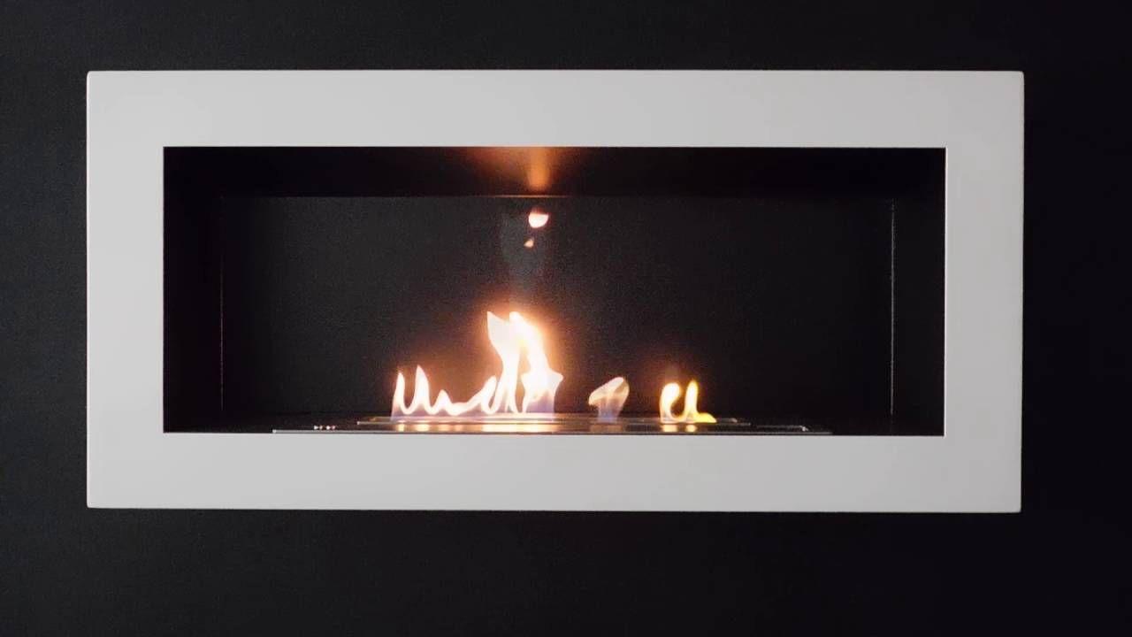 SASA L Wandkamin Bioethanol Mit Fernbedienung AFIRE Automatische Kaminofen  Http://www.a