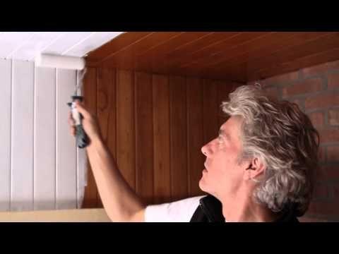 Comment peindre un plafond en bois ? - YouTube DIY Pinterest - comment peindre le plafond