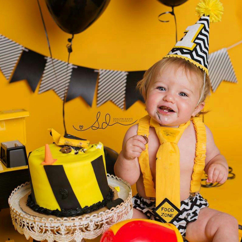 Red Baby Boys 1st Birthday Cake Smash Outfit white yellow.*paw Patrol theme*