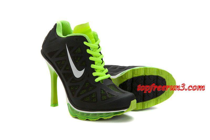 #topfreerun3 com Save Up To 61%,$89.16 Nike Air Max 2011 Black Summit White Neon Lime High Heels