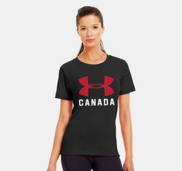 4c7add03bd Women's Canada Pride Graphic T-Shirt | 1253454 | Under Armour CA ...