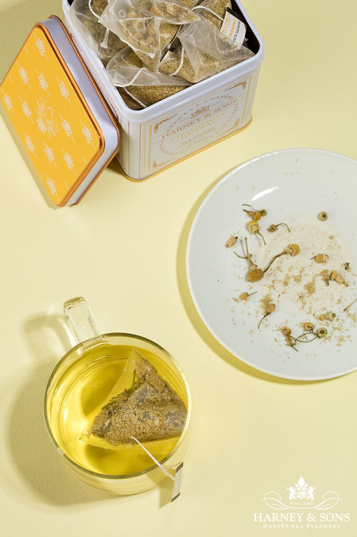 Chamomile is perfect for winding down during a hectic afternoon at the office, or at home at the end of the day. Harney & Sons classic tin! #tea