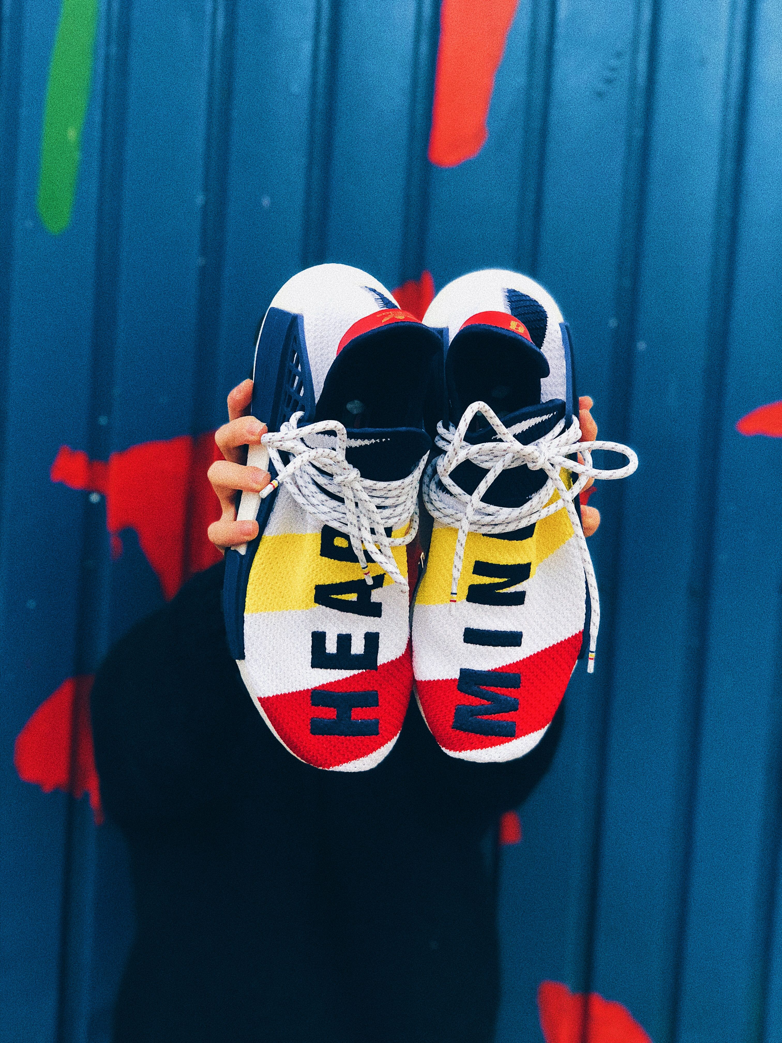 quality design 3db7b a84b6  sneaker  adidas  bbc  pw  pharrellwilliams  pharrell  humanrace   sneakerhead  hype  color  heat  kanye  hypebeast