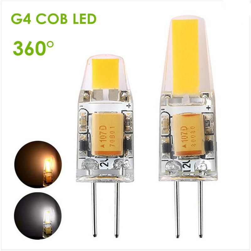 Dimmable G4 Led 12v Ac Dc Cob Light 3w 6w High Quality Led G4 Cob Lamp Bulb Chandelier Lamps Replace Halogen Led Lig 12v Led Lights Led Light Lamp Halogen Lamp