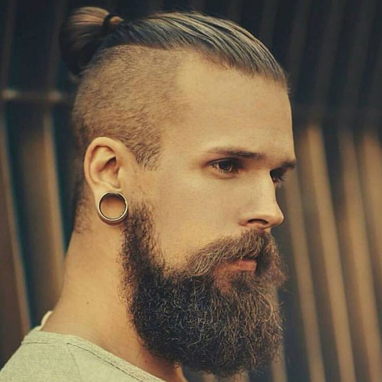 Backcombed Hairstyles For Men With Beards