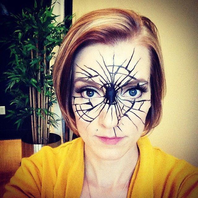 #shattered #makeup #halloween #2014