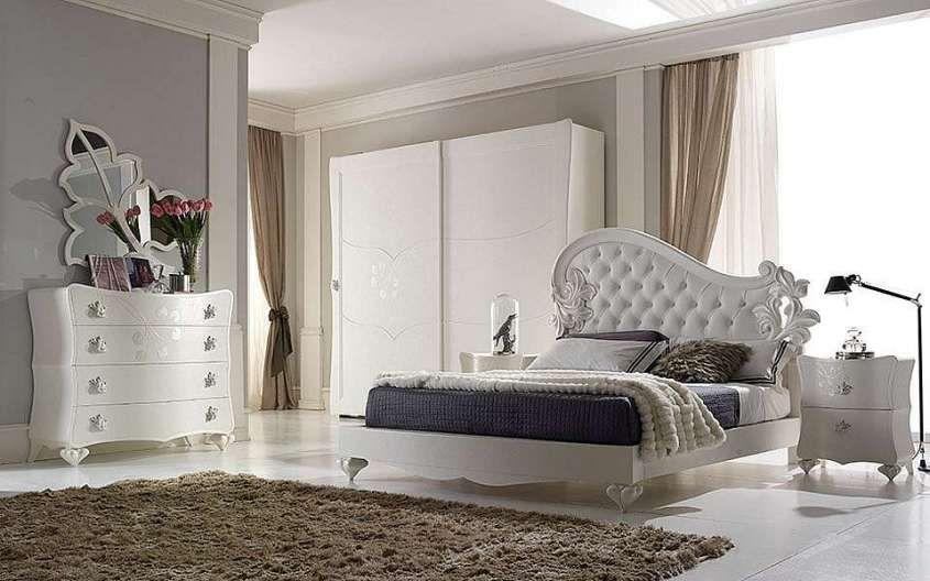Camera da letto in stile new classic - Letto originale | Cameras
