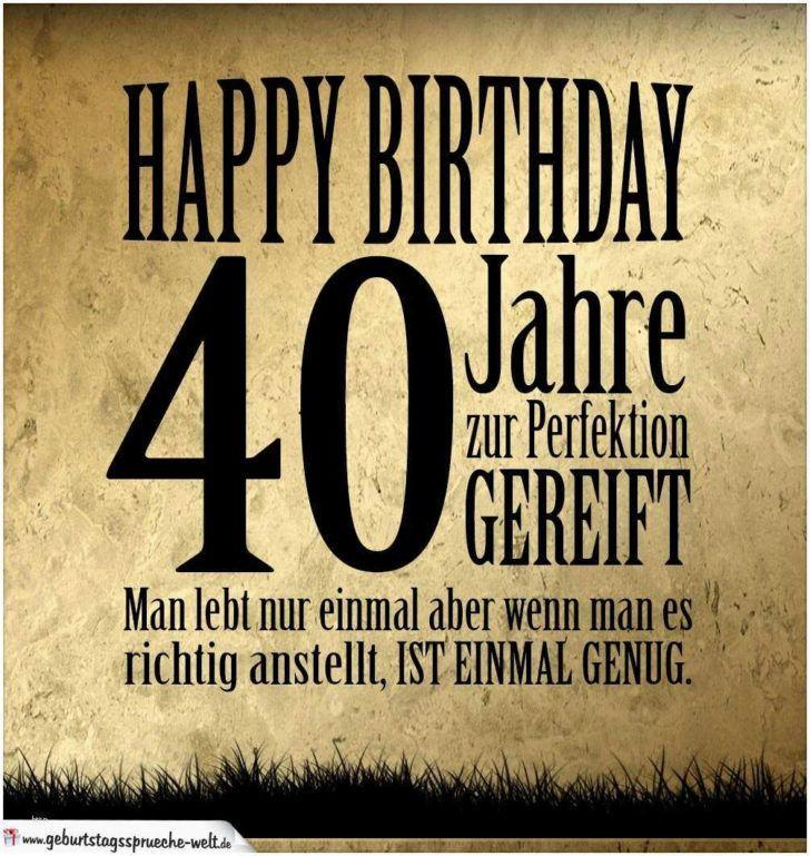 20 Besten Geburtstagswunsche 40 Mann Spruche Zum Geburtstag Mann