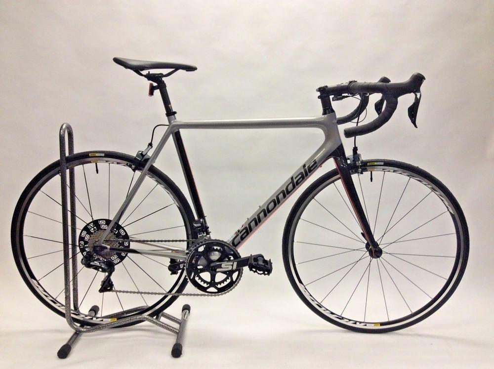 2018 Cannondale Supersix Evo Ultegra Di2 Road Bike Size 52 Ash Grey Cannondale Bike Fixed Gear Bike